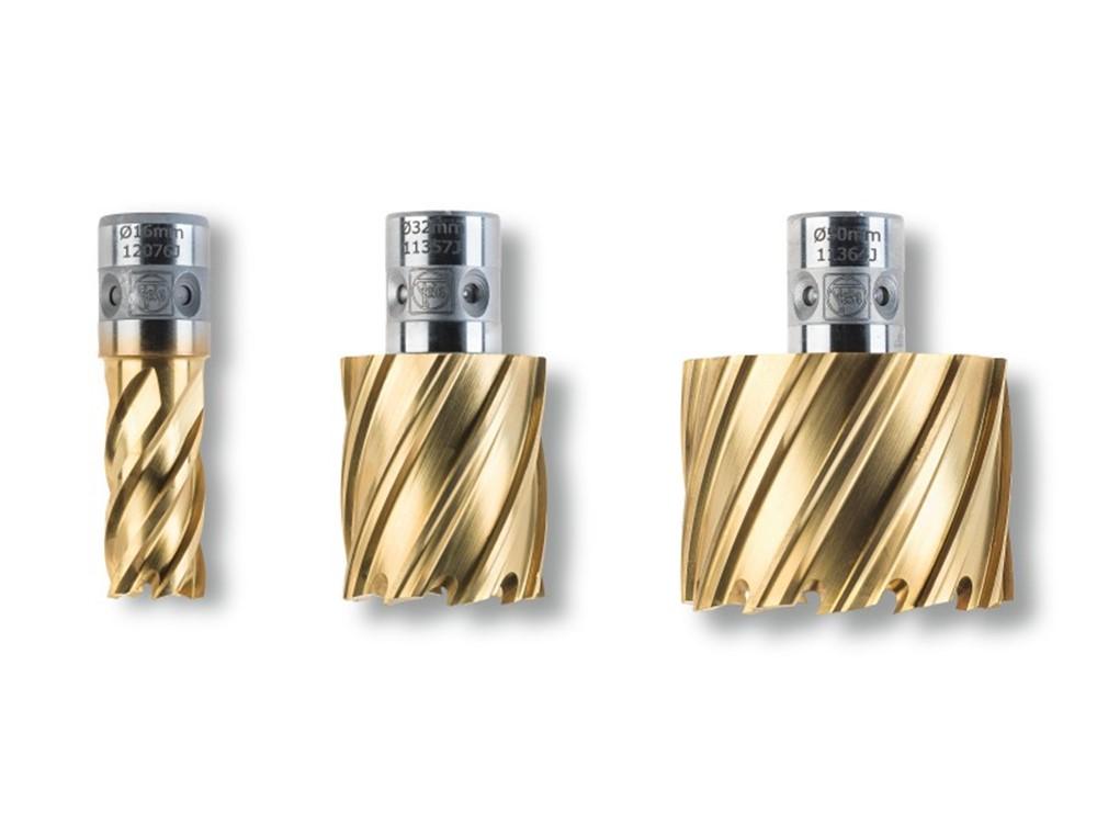 Fein 63133190067 HSS Dura 25 kernboor 19 x 25 mm QuickIN TIN