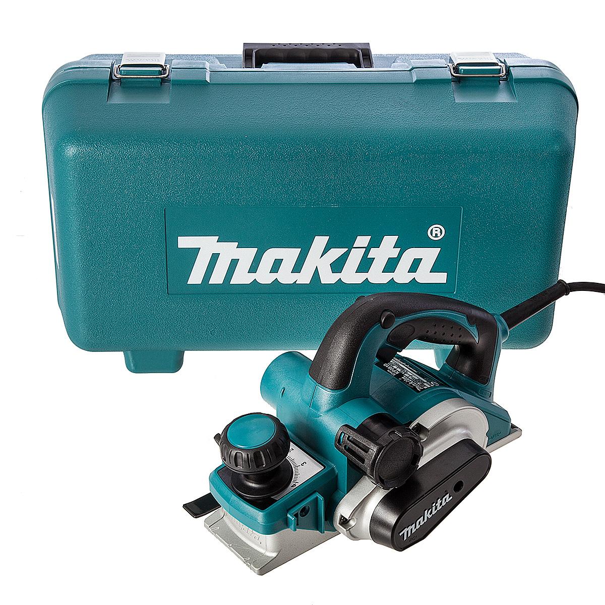 Makita KP0810K Schaafmachine in koffer - 850W - 4mm