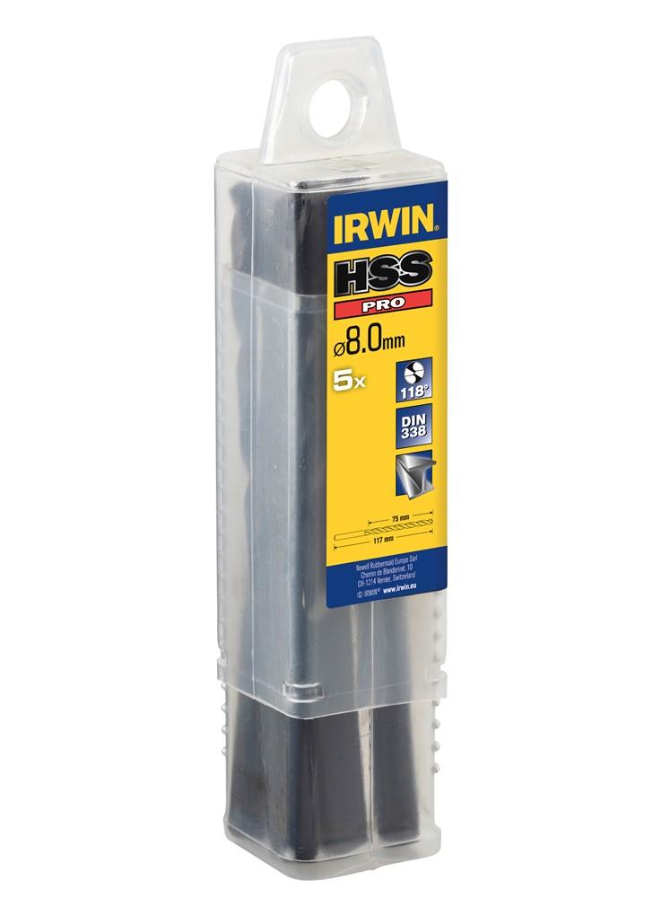 Irwin 10502326 HSS Pro Metaalboor 9,5 x 125mm (5st)