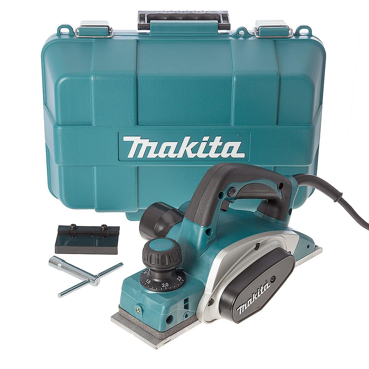 Makita KP0800K Schaafmachine in koffer - 620W - 2,5mm