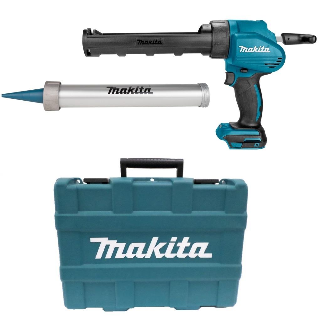 Makita DCG180ZXK 18V Li-Ion Accu lijm- en kitspuit body incl. kokerhouder- en worsthouder in koffer