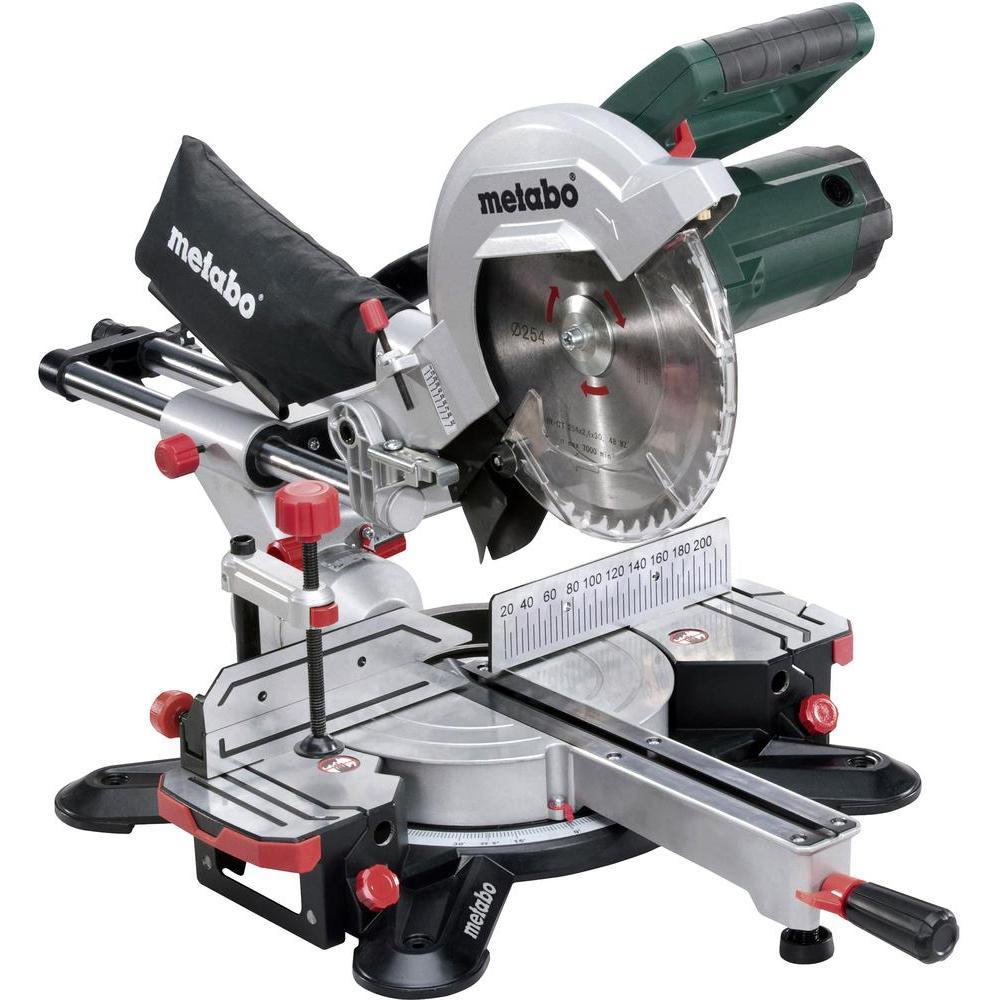 Metabo KGS 254 M Afkortzaag met laser - 1800W - 254 x 30mm