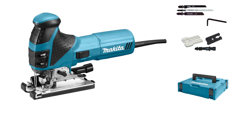 Makita 4351FCTJ Decoupeerzaag in Mbox 720W T greep variabel