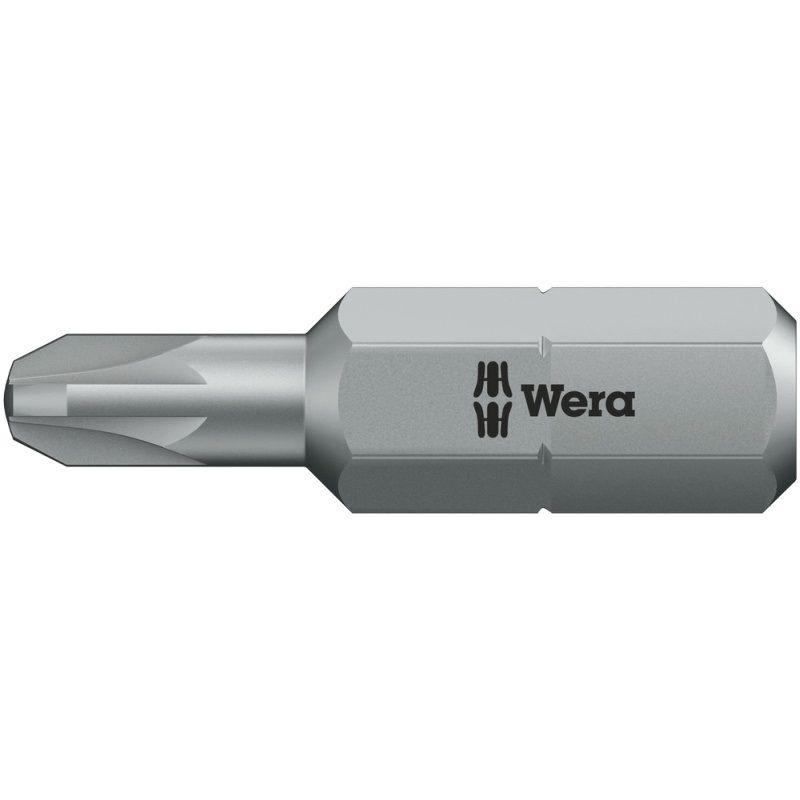 Card 2 Wera WER073370 855//1 TH Pozidriv Torsion Extra Hard Bits PZ1 x 25mm