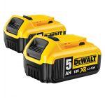 DeWALT DCB184 Duopack 18V Li-Ion accu - 5.0Ah (2st)