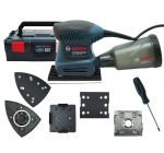 Bosch GSS 160-1 A 3 in 1 Multischuurmachine in L-boxx - 06012A2300