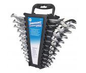 Silverline 633470 22-delige Ringsteeksleutelset - inch/metrisch