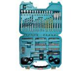Makita P-90249 100-delige Accessoireset in koffer