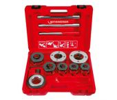 "Rothenberger Super Cut-Set BSPT R,3/8-2"""" Draadsnijset in koffer - 070891X"