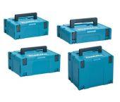 Makita combiset Mbox opbergkoffers nummer 1, 2, 3 en 4