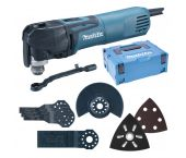 Makita TM3010CX5J Multitool + 56-delige accessoiresset in Mbox - 320W