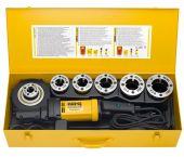 "Rems 540024 Amigo 2 Compact Set R1/2-2 draadsnijmachine + snelwisselsnijkoppen in koffer - 1800W - R 1/2-3/4-1-1 1/4-1 1/2-2"" - 540024"