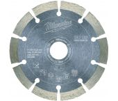 Milwaukee DU 125 Diamantdoorslijpschijf - 125 x 22,23 x 2,3mm - Universeel - 4932399522