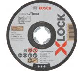 Bosch 2608619262 X-Lock Slijpschijf Standard for Inox - Recht - 125mm