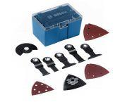 Bosch 11-delige Universele accessoireset in opbergbox - starlock