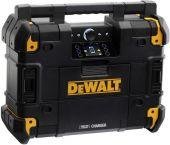 Dewalt DWST1-81078 10,8-54V Li-Ion accu TSTAK radio met oplaadfunctie - werkt op netstroom & accu - DWST1-81078-QW