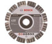 Bosch 2608602681 Best Diamantdoorslijpschijf - 150 x 22,23 x 2,4mm - abrasief materiaal