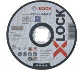 Bosch 2608619264 X-Lock Slijpschijf Expert for Inox & Metal - Recht - 125mm