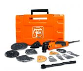 Fein FMM 350 QSL Multimaster Top Multitool + 41 delige accessoireset in koffer - 350W - 72295261000