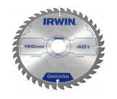 Irwin 1897086 Construction Cirkelzaagblad - 125 x 20 x 16T - Hout