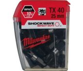 Milwaukee 4932430889 Shockwave impact duty schroefbit TX 40 - 25mm (25st)