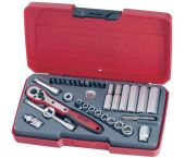 """Teng Tools T1435AF 35-delige Doppenset met ratel - Inch - 1/4"""" - 172470205"""