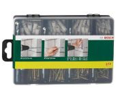 Bosch 2607019511 173-delige bevestigingsset