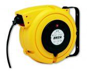 Zeca ZEEL4325 Kabelhaspel met PVC kabel 3 stroomgeleiders - H05VVF - 3x2,5mm² - 10m