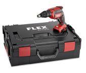 "Flex DW 45 18.0-EC 18V Li-Ion Accu Gipsschroefmachine body in L-Boxx - 28Nm - 1/4"" - koolborstelloos - 447.757"