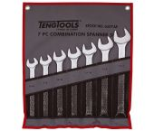 "Teng Tools 6507AF 7-delige Ring-/steeksleutelset in roltas - Inches - 13/16""-1 1/4"""
