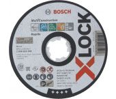Bosch 2608619269 X-Lock Slijpschijf Multi Construction - Recht - 125mm