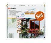 Gardena 1407-20 Set voor volautomatische bloembakbesproeiing