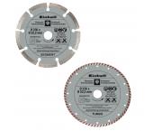 Einhell 4440333 2-delige Diamantschijvenset - 230 x 22,2mm - beton - tegels