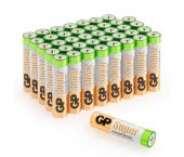 GP Alkaline Super Batterijen - AAA - 1,5V (40st) - 03024AB40
