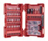 Milwaukee 4932471587 70-delige bitset in cassette - PH/PZ/TX/Hex