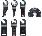 KWB 49708000 Multitool Accessoireset - 7-delig - Akku Top
