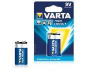 Varta High Energy Batterij - Alkaline - 9V - 4922121411