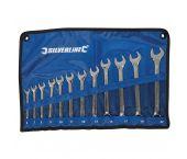 Silverline 633799 12-delige Ringsteeksleutelset - 6-22mm