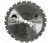 Batavia 7062669 Cirkelzaagblad - Multi - 24T - 125mm