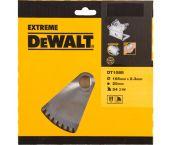 DeWalt DT1088 Extreme Cirkelzaagblad - 165 x 20 x 54T - Hout / Laminaat / Aluminium - DT1088-QZ