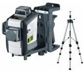 Laserliner SuperPlane-Laser 3G Pro Set Kruislijnlaser incl. statief in L-boxx - Groen - 3 lijnen - 30m - 036.650-1