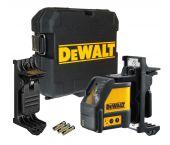 DeWALT DW088K Zelfnivellerende kruis lijnlaser in koffer - 2 lijnen - 15m