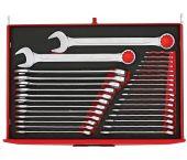 Teng Tools TTESP31 31-delige Ring-/steeksleutelset in EVA-tray - 5,5-38mm