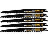 DeWalt DT99555 Reciprozaagblad - 230mm - Hout met spijkers (5st) - DT99555