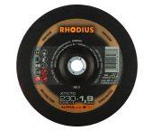Rhodius ALPHAline I XTK70 Doorslijpschijf - Extra dun - 230 x 22,23 x 1,9mm - RVS/Staal