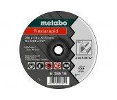 Metabo 616515000 Doorslijpschijf - 180 x 1,6 x 22,23mm - Aluminium