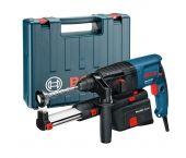 Bosch GBH 2-23 REA SDS-plus Boorhamer met ingebouwde afzuiging in koffer - 710W - 2,5J - 0611250500