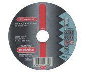Metabo 616271000 Novorapid Doorslijpschijf - 125 x 1 x 22,23mm