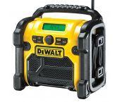 DeWalt DCR020 10.8-18V Li-Ion Accu bouwradio - DAB+ - werkt op netstroom & accu - DCR020-QW