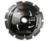 Makita B-23014 Specialized Cirkelzaagblad - 260 x 30 x 6T - Vezelcementplaat